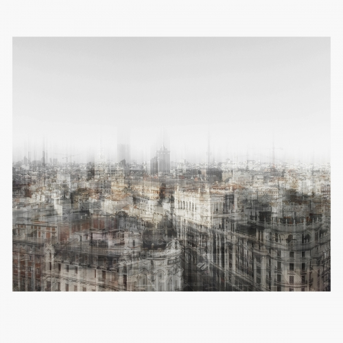 FakeCity. MadridBlurred