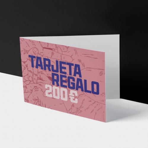 TARJETA REGALO 200