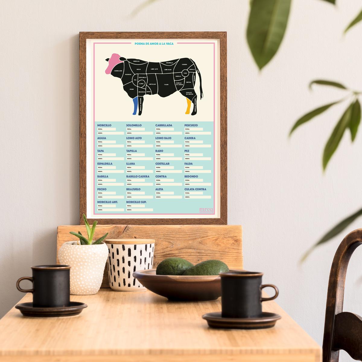 Poema de amor a la vaca